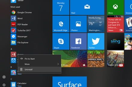 New Windows 10 19H1 preview lets users remove pre-installed Microsoft apps