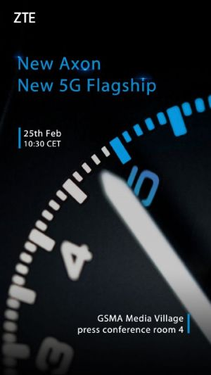 Axon-Branded 5G Phone Coming Next Week, ZTE Confirms