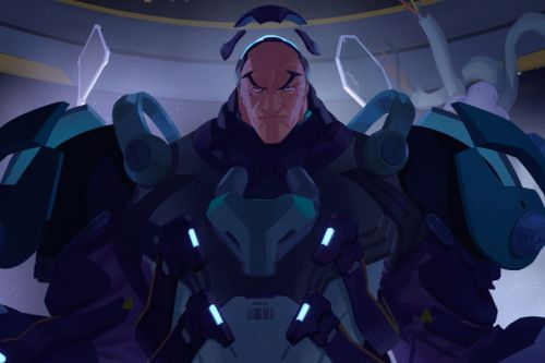 Overwatch's next hero is Sigma, a scientist who controls gravity