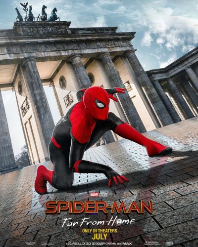 Spider-Man: Far From Home's Posters Show New Suit