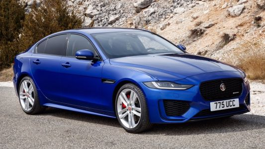 The beautifully understated nav display on the 2020 Jaguar XE is second to none