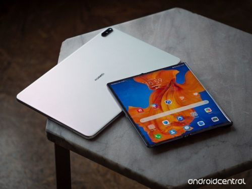 Huawei Mate XS + MatePad 5G hands-on: Foldables come to the post-Google era