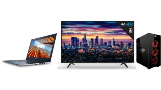 ET Deals: TCL 4K HDR 49-Inch TV $299, Dell Core i5 1080p IPS Laptop $699, Overpowered GTX 1080 Ti Desktop $1,499