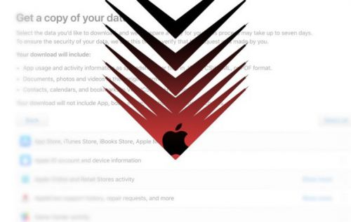 Apple Personal Data download: How to get your stuff