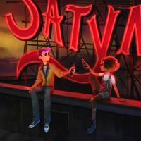 Get an inside look at the art of Oxenfree follow-up Afterparty at GDC 2019