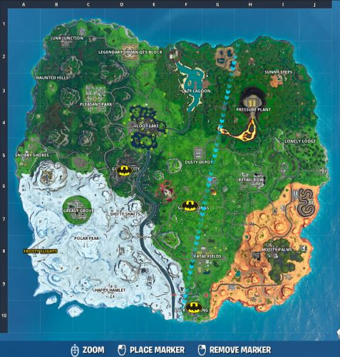 Fortnite Locations: Where To Defuse Joker Gas Canisters Guide