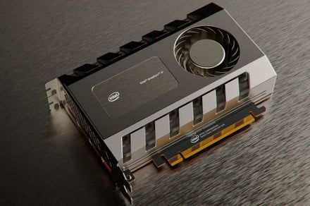 Intel gives a peek at what its Arctic Sound GPU could look like