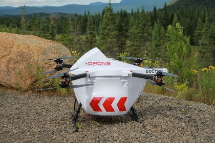 Full-fledged drone delivery service set to land in remote Canadian community