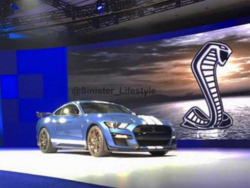 Leaked Ford GT500 images are reportedly from dealer meeting