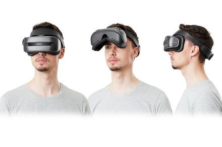 This heavily discounted headset offers virtual reality at a realistic price