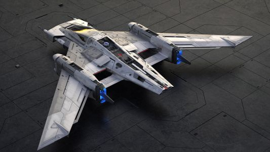 Porsche and Lucasfilm co-designed a new starfighter for the Star Wars universe