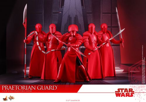 Take A Look At Hot Toys' Amazing The Last Jedi Praetorian Guards