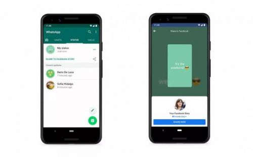 WhatsApp Status will soon offer sharing to other apps like Facebook