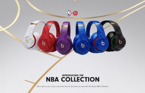 Beats dévoile ses casques Studio3 sans fil Collection NBA
