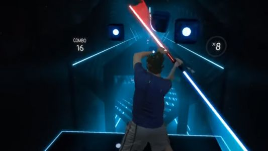 Slash Some Notes As Darth Maul In Beat Saber