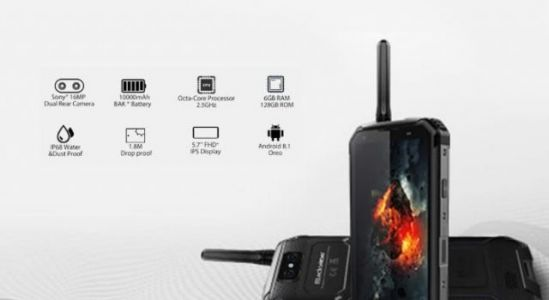 Rugged Blackview BV9500 with walkie-talkie discounted on Coolicool