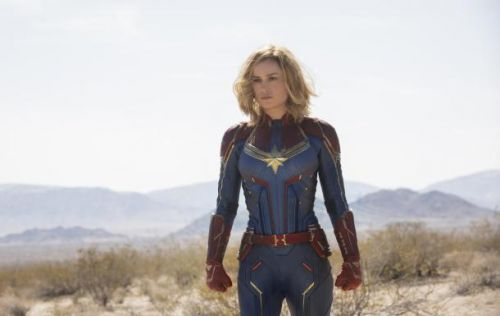 Watch the first official trailer for 'Captain Marvel,' coming next March