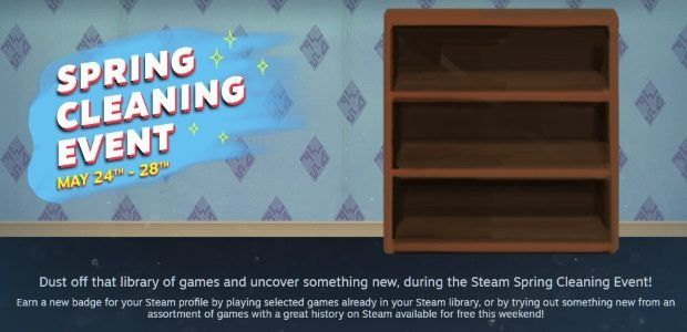 Steam's Spring Cleaning Event wants you to clear your backlog. Or just try a bunch of new games instead