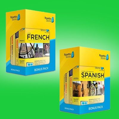Learn Spanish, French, and more with 2 years of Rosetta Stone for $169