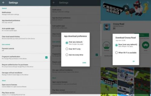 Google Play Store now lets users decide how to download apps