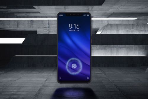 Xiaomi's Mi 8 Pro looks like an iPhone X with an in-display fingerprint sensor