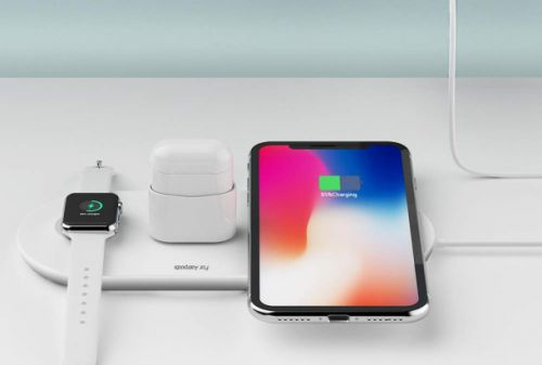This $23 'Airpower' pad charges your iPhone, Apple Watch, and AirPods all at once