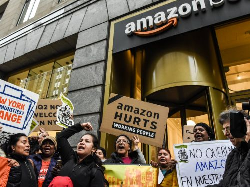 Most New Yorkers support Amazon coming to town but many hate the deal, a new poll says