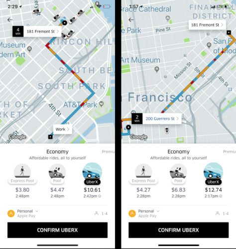 Uber fires up its own traffic estimates to fuel demand beyond cars