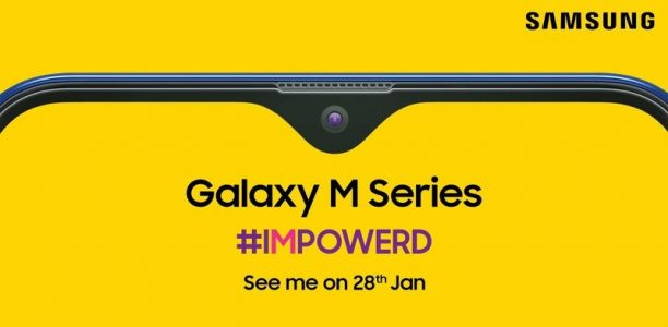 Samsung's Galaxy M series is launching in India on January 28