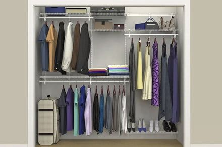 Tidying up with Netflix's Marie Kondo? Save on ClosetMaid essentials at Wayfair