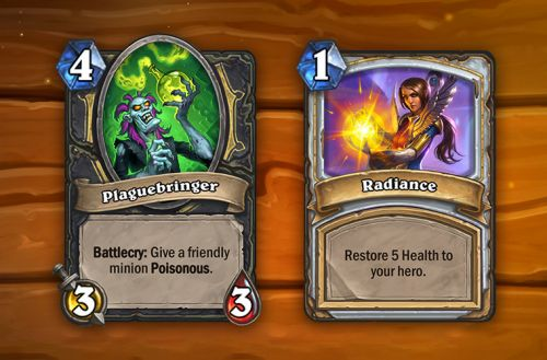 Hearthstone Retiring Two Original Cards, Introducing 10 More