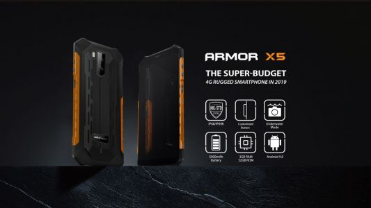 Super-budget rugged Ulefone Armor X5 now only $99.99