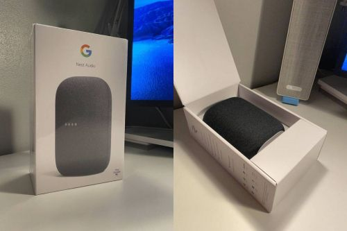 Google Nest Audio unboxed early after retailer jumps the gun