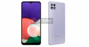 Samsung Galaxy A22 4G and 5G renders surface online