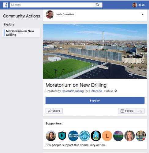 Facebook launches petition feature, its next battlefield