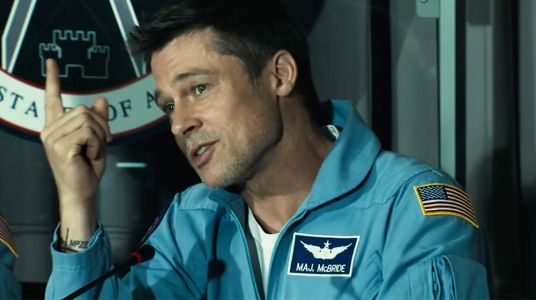 Are We Alone? 'Ad Astra' Star Brad Pitt Talks Aliens, Science Fiction and More