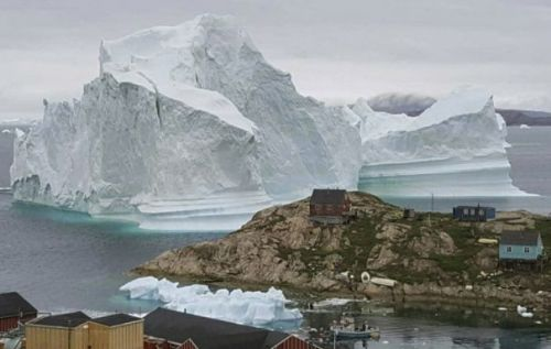 11-million-ton iceberg forces evacuation in tiny Greenland town