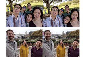 Here's how Google fixes your discombobulated face in wide-angle Pixel shots