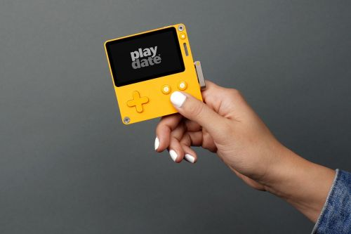 Playdate is an adorable handheld with games from the creators of Qwop, Katamari, and more