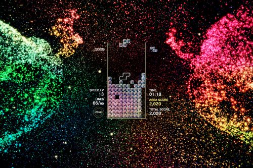 Tetris Effect is perfect for people overwhelmed by modern video games