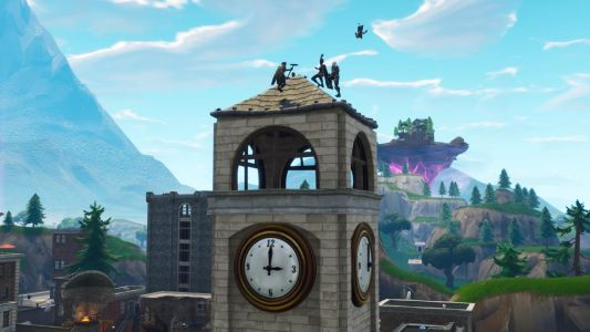 Fortnite: Where To Dance On A Clock Tower, Pink Tree, Porcelain Throne Locations