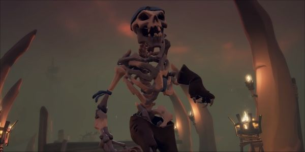 Sea Of Thieves Cursed Sails Update Teases Skeleton Pirate Ships