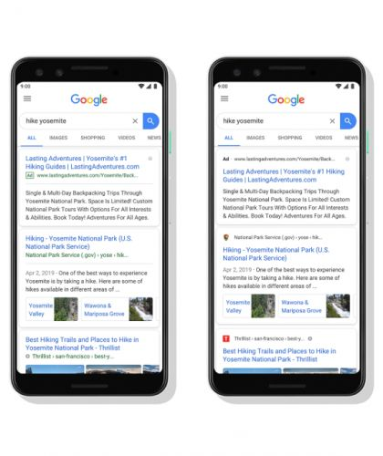Google's new look for mobile search results puts site owners and publishers first