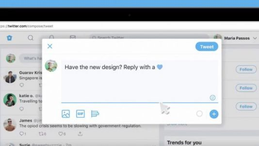 Twitter Is Piloting a New Design Update With an Emoji Button