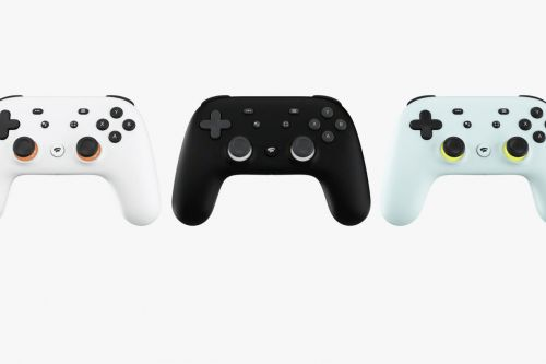 Here is Google's controller for its Stadia game-streaming service