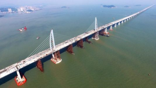 China Preps 5G Coverage For World's Longest Sea Bridge