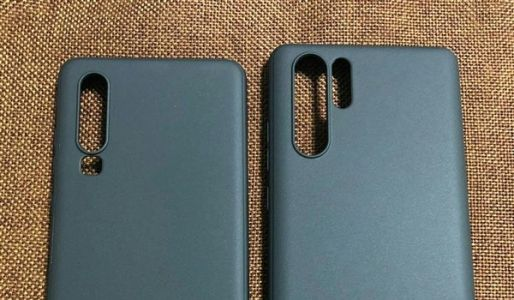 Huawei P30/P30 Pro protective case exposure shows rear design