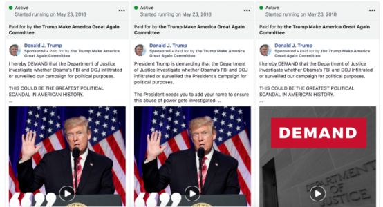 Facebook exempts news outlets from political ads transparency labels