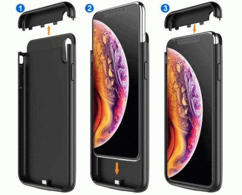 You can buy 4 of these iPhone XR/XS battery cases for the price of one of Apple's new cases