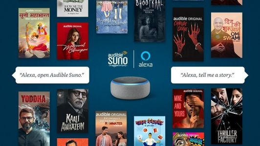 Audible Suno now offers free stories on Alexa in India